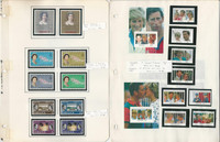 British Stamp Royalty Collection, 10 Pages Queen Elizabeth, Diana Mint NH (BA)