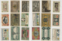 Germany Notgeld Notes 1920's, Lot 9 Different, Stolzenau, Suchsdorf (E)