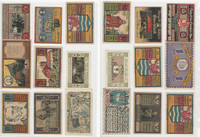 Germany Notgeld Notes 1920's, Lot 9 Different, Berghaues, Germeinde (K)