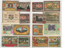 Germany Notgeld Notes 1920's, Lot 8 Different, Steenfeld, Steinbach (L)