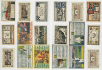Germany Notgeld Notes 1920's, Lot 9 Different, Stolberg, Berghaues (S)