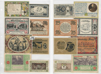 Germany Notgeld Notes 1920's, Lot 8 Different, Stolzenau, Berghaues (T)