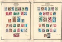 Germany Collection Occupation on 10 Scott Specialty Pages, World War I & II, DKZ
