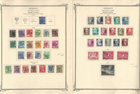 Germany Soviet Zone on 2 Scott Specialty Pages, 1948-49 World War II, DKZ