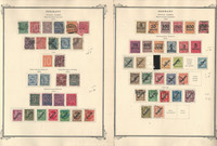 Germany Stamp Collection Back of Book on 7 Scott Specialty Pages, DKZ