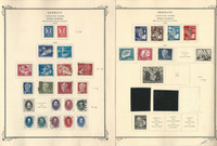 Germany DDR Collection on 19 Scott Specialty Pages, 1949-57, SCV $714, DKZ