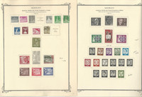 Germany Stamp Collection Berlin on 16 Scott Specialty Pages, 1956-72, DKZ