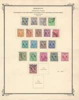 Germany Stamp Collection on Scott Specialty Page, 1945-6 Allied Military, DKZ