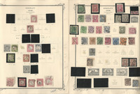 Germany Stamp Collection on 16 Scott Specialty Pages, 1872-1936, DKZ