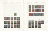 Germany Stamp Collection 1874-1923 on 12 Pages, Loaded, SCV $1000, DKZ
