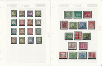 Germany Stamp Collection 1961-1970 on 16 Pages, Neatly Mounted, DKZ