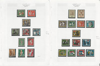 Germany Stamp Collection 19147-1993 on 28 Pages, Semi Postals, DKZ