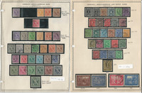 Germany Stamp Collection 1945-47 on 3 Minkus Pages, Allied Occupation, DKZ