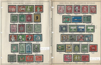 Germany Stamp Collection 1956-59 on 5 Minkus Pages, Federal Republic, DKZ
