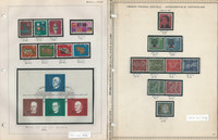 Germany Stamp Collection 1960-68 on 13 Pages, Neatly Identified, DKZ