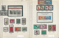 Germany Stamp Collection 1975-80 on 14 Pages, Neatly Identified, DKZ