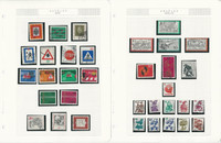 Germany Stamp Collection 1971-1984 on 24 Pages, Used, DKZ
