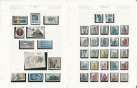 Germany Stamp Collection 1984-1992 on 24 Pages, Used, DKZ