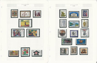 Germany Stamp Collection 1992-1999 on 27 Pages, Used, DKZ