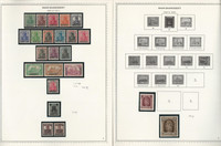 Germany Stamp Collection 28 Minkus Specialty Pages, Saar 1920-59, JFZ