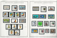 Germany Stamp Collection 24 Minkus Specialty Pages, 1990-94 Mint NH, JFZ