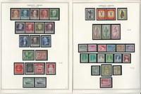 Germany Berlin Stamp Collection 7 Minkus Specialty Pages, 1948-58, JFZ