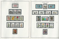 Germany Berlin Stamp Collection 18 Minkus Specialty Pages, 1982-1990, JFZ