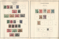 Germany Stamp Collection on 8 Minkus Specialty Pages, Allenstein Silesia, DKZ