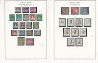 Germany Berlin Stamp Collection on 10 Pages, 1948-1957, DKZ