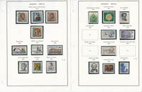 Germany Berlin Stamp Collection on 24 Pages, 1984-1990, DKZ
