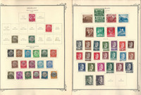 Germany Stamp Collection 1852-1981 in Scott Specialty Album, DKZ