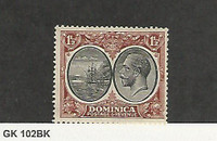 Dominica, Postage Stamp, #69 Mint Hinged, 1923, JFZ