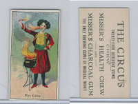 E44 Messer's Charcoal Gum, The Circus, 1910, Fire Eater (B)