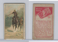 W62-359 Wills Scissors, Heroic Deeds, 1913, #24 Pte. Byrne
