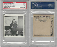 1966 Topps, Get Smart, #12 Chief, One False Move & I'm Dead, PSA 5 EX
