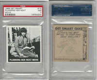 1966 Topps, Get Smart, #13 Planning Her Next Move, PSA 7 NM