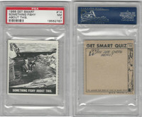 1966 Topps, Get Smart, #14 Something Fishy About This, PSA 7 NM