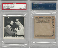 1966 Topps, Get Smart, #17 We See Eye To Eye On Everything, PSA 5 EX