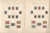 Germany Stamp Collection on 13 Pages, World War I Occupations, DKZ