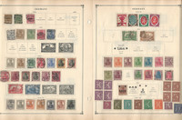 Germany Stamp Collection on 100 Scott International Pages, 1852-1980, DKZ