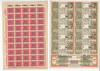 Germany Stamp Collection Interesting Unlisted Sheets, DKZ