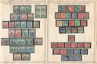 Germany Stamp Collection on 9 Minkus Specialty Pages, Bohemia Moravia, DKZ