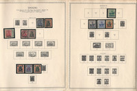 Germany Stamp Collection on 14 Minkus Specialty Pages, Danzig, DKZ