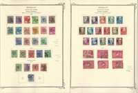 Germany Stamp Collection on 3 Scott Specialty Pages, Soviet Zone, DKZ