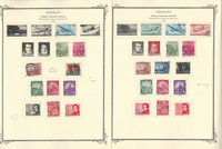 Germany Stamp Collection on 45 Scott Specialty Pages, DDR 1956-64, DKZ