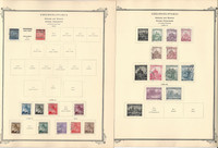 Germany Stamp Collection 27 Scott Specialty Pages, Bohemia, Slovakia, DKZ