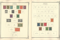 Germany Stamp Collection 80 Scott Specialty Pages, 1872-1987, DKZ