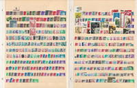 Germany DDR Stamp Collection on 4 Stock Pages, Nice Lot, DKZ