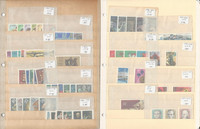 Germany DDR Stamp Collection, Lot of Mint Sets on 3 Stock Pages, DKZ