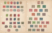 Germany Bavaria Stamp Collection on 8 Pages, All Different Lot, DKZ